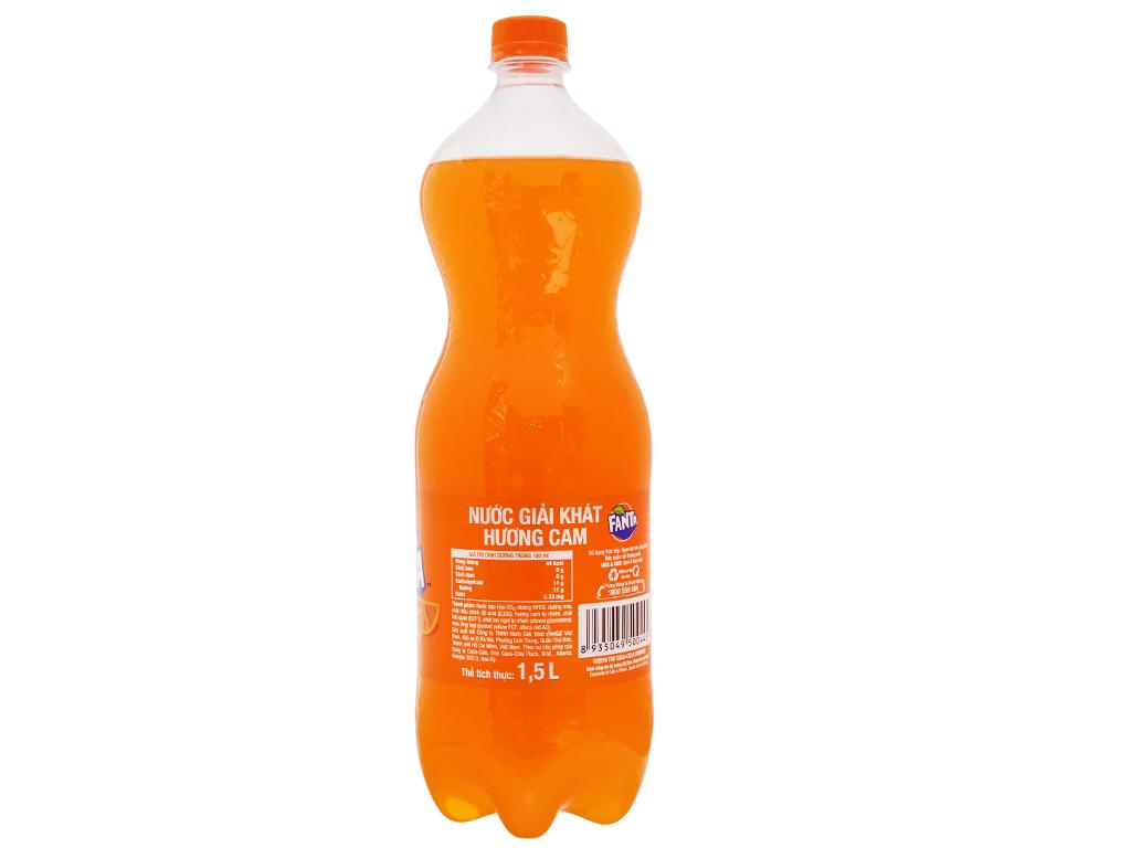 6 chai nước ngọt Fanta hương cam 1.5 lít 4