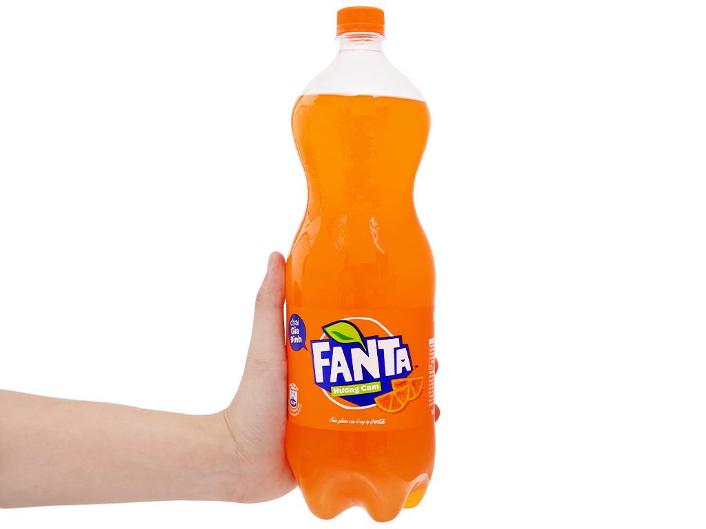 6 chai nước ngọt Fanta hương cam 1.5 lít 6