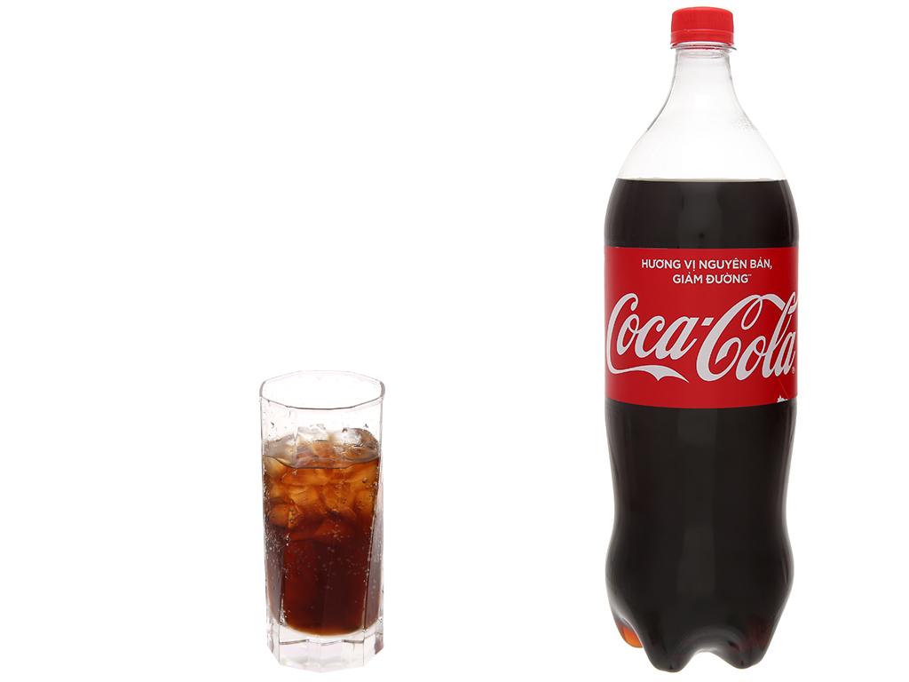 Nước ngọt Coca Cola nguyên bản (giảm đường) chai 1.5 lít 5