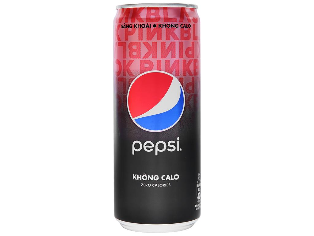 Nước ngọt Pepsi không calo 330ml 1