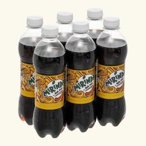 6 chai nước ngọt Mirinda đá me 390ml