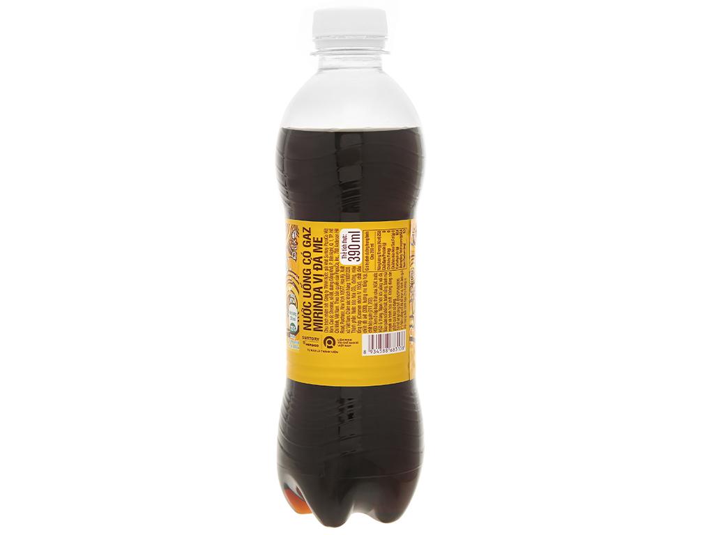 Thùng 24 chai nước ngọt Mirinda đá me 390ml 4