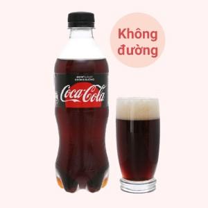 Nước ngọt có ga Coca Cola Zero chai 390ml