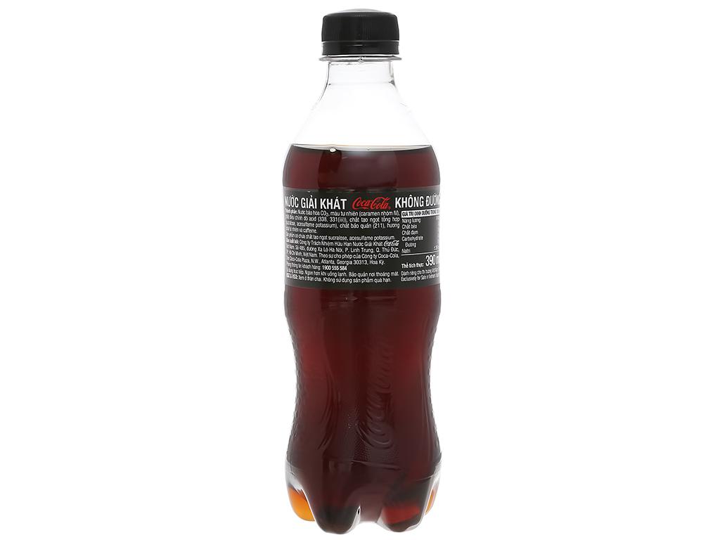 24 chai nước ngọt có ga Coca Cola Zero 390ml 2