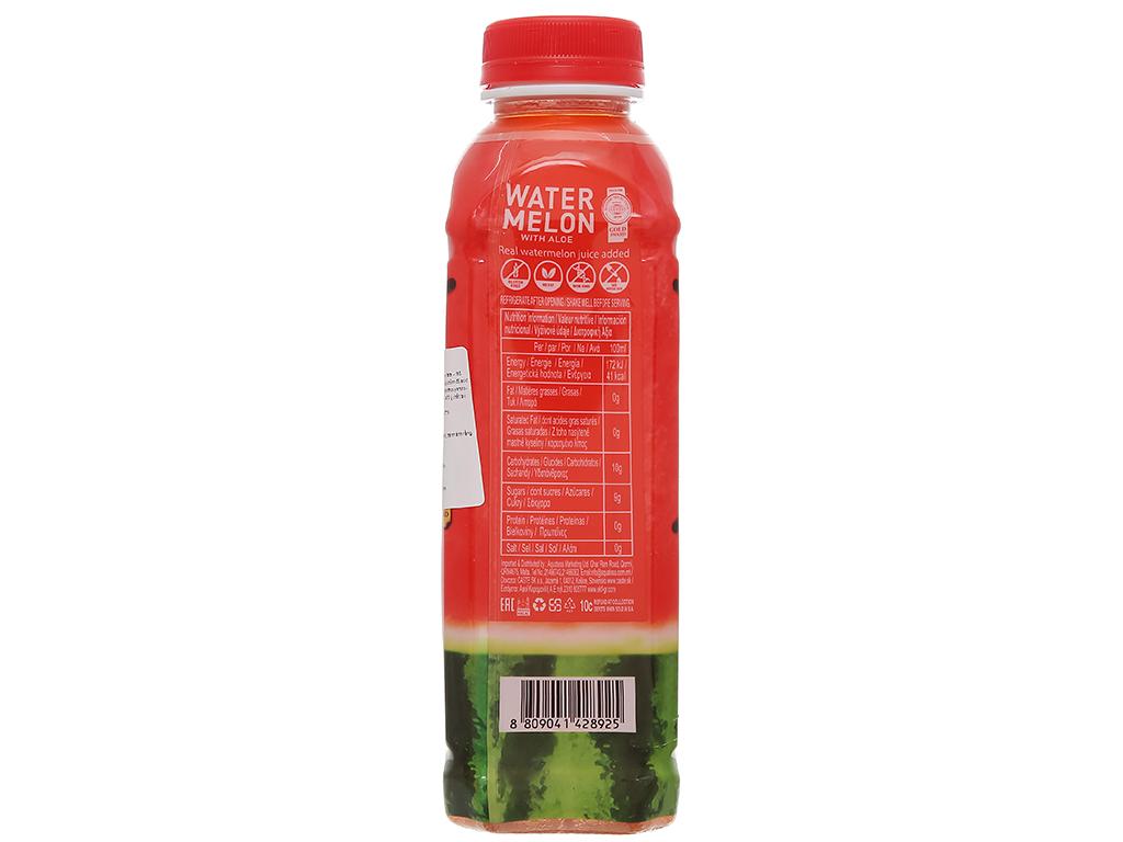 Nước ngọt có ga sparkling OKF vị dưa hấu nha đam chai 500ml 4