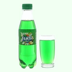 Nước ngọt có ga Fanta hương soda kem trái cây chai 300ml