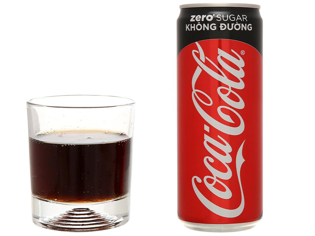 Nước ngọt Coca Cola Zero 320ml 5