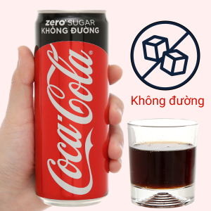 Nước ngọt Coca Cola Zero 320ml