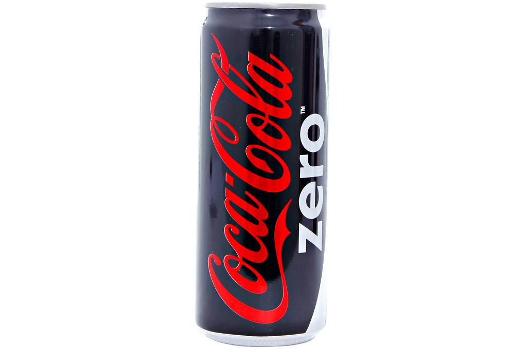 Nước ngọt Coca Cola Zero lon 330ml