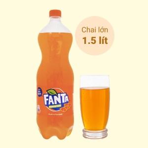 Nước ngọt Fanta hương cam 1.5 lít