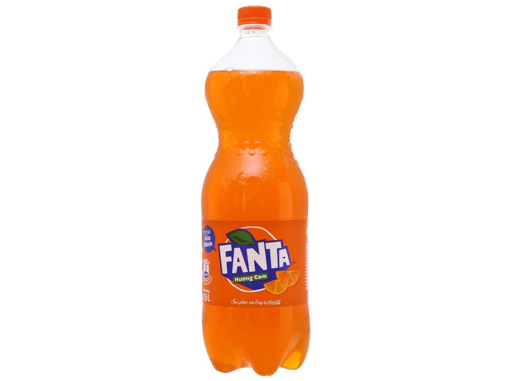 Nước ngọt Fanta vị cam 1.5 lít 2