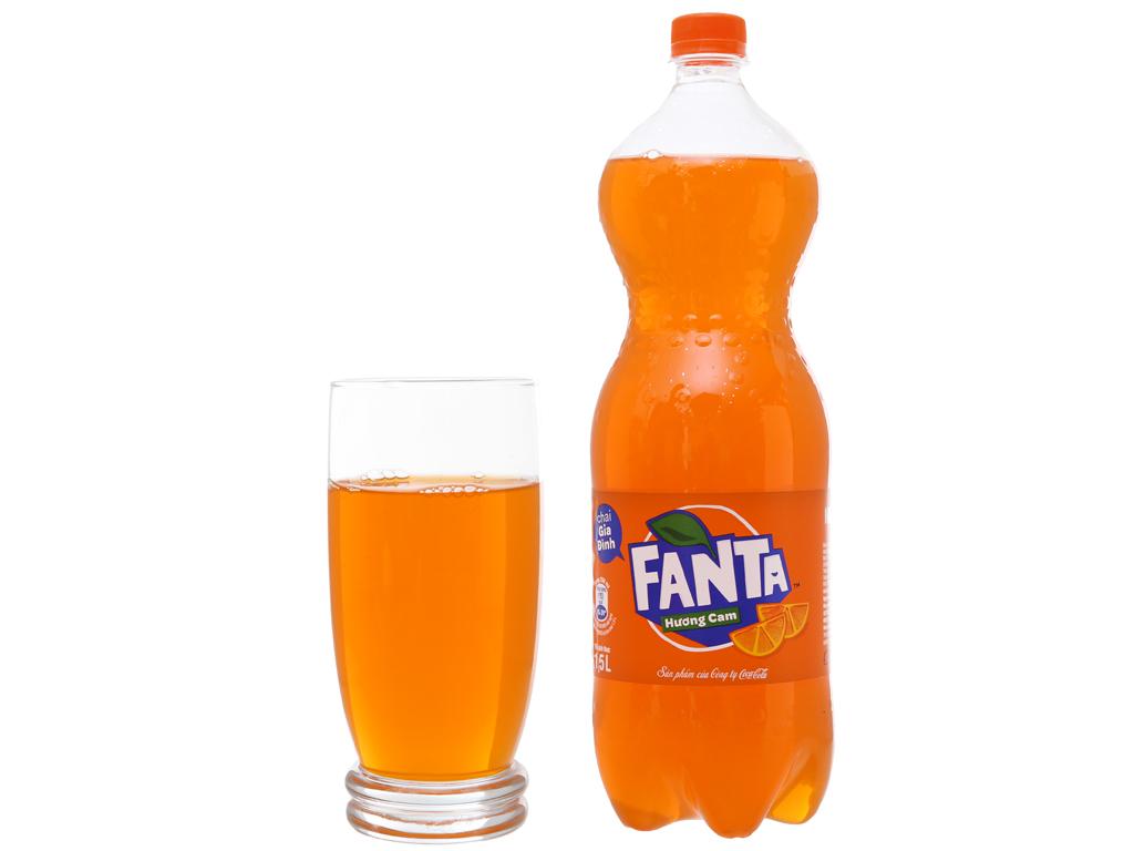 Nước ngọt Fanta vị cam 1.5 lít 5
