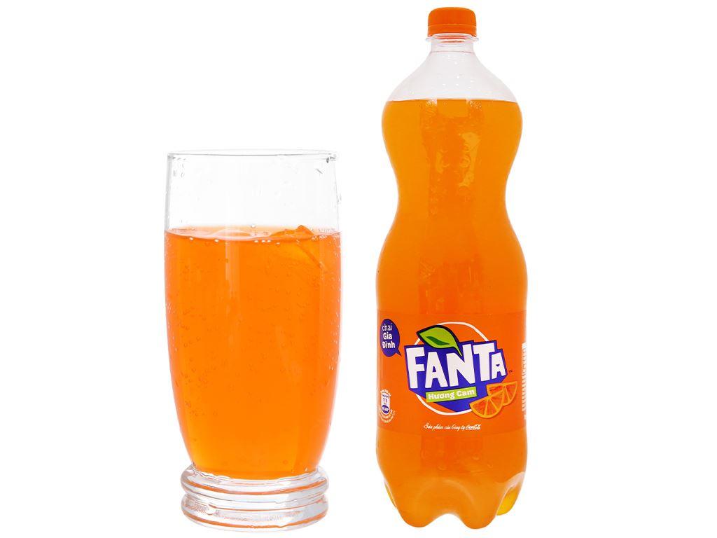 Nước ngọt Fanta hương cam 1.5 lít 12