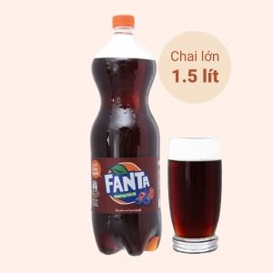 Nước ngọt Fanta hương xá xị 1.5 lít