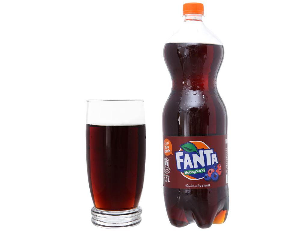 Nước ngọt Fanta hương xá xị 1.5 lít 3