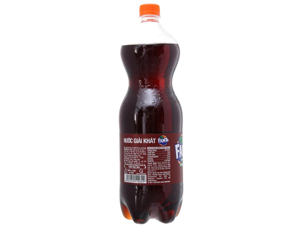 Nước ngọt Fanta hương xá xị 1.5 lít 2