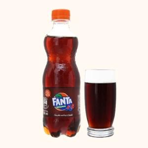 Nước ngọt Fanta hương xá xị 390ml