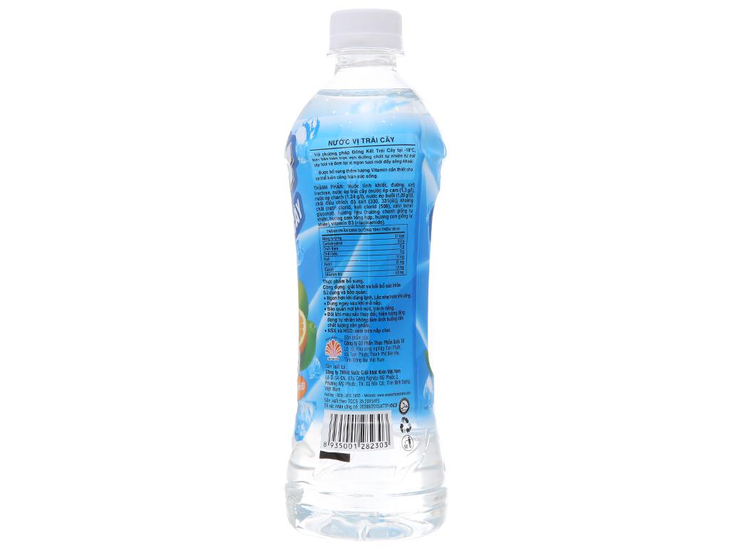 Nước trái cây Ice+ vị cam chanh 490ml 2