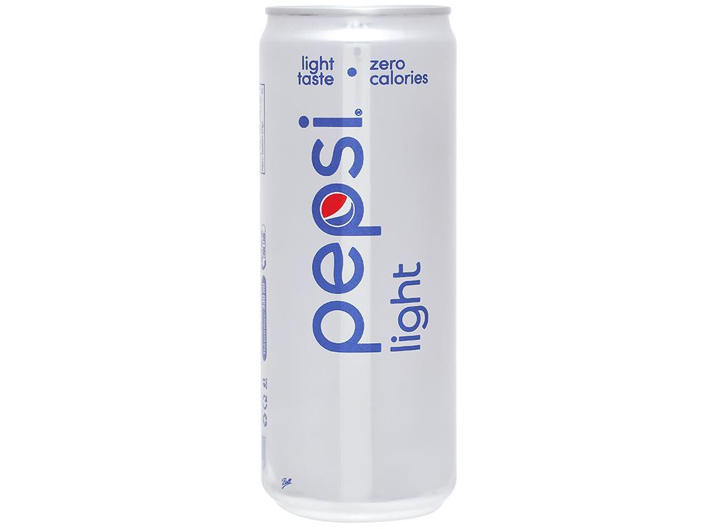 Nước ngọt Pepsi Light 330ml 2