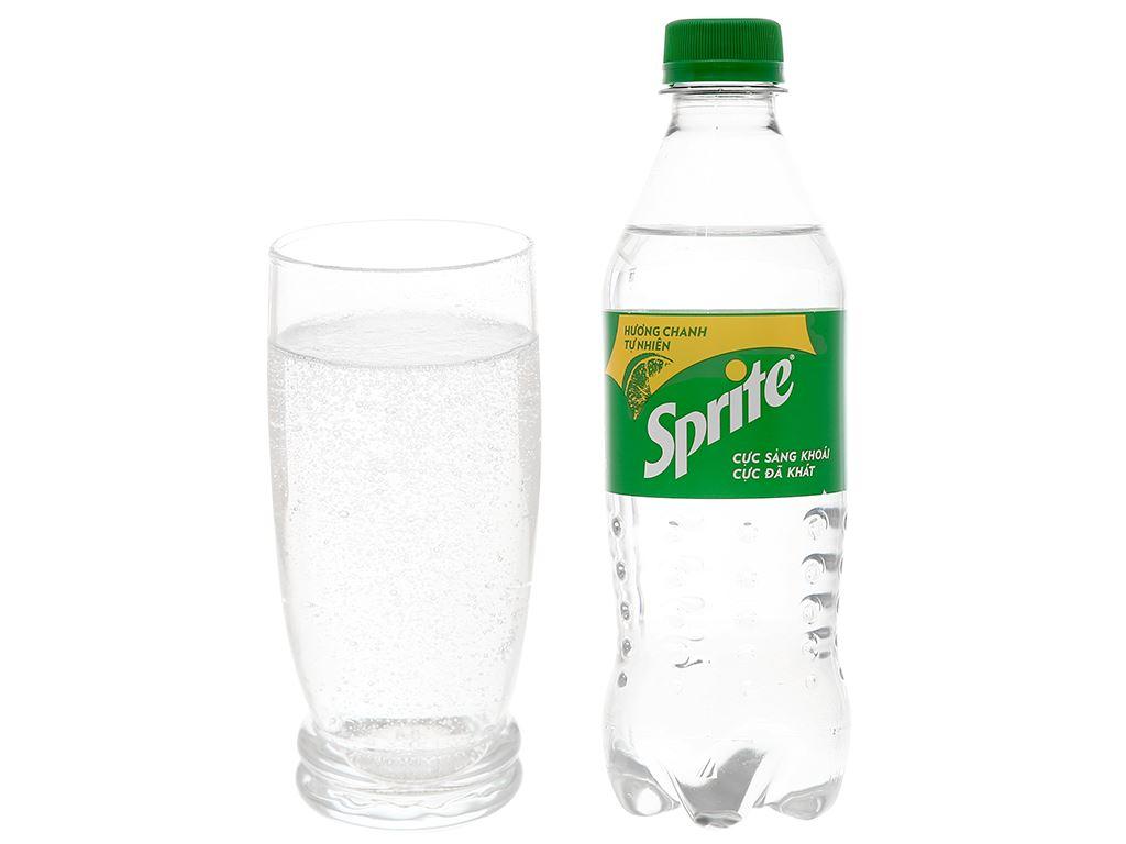 Nước ngọt Sprite hương chanh 390ml 3