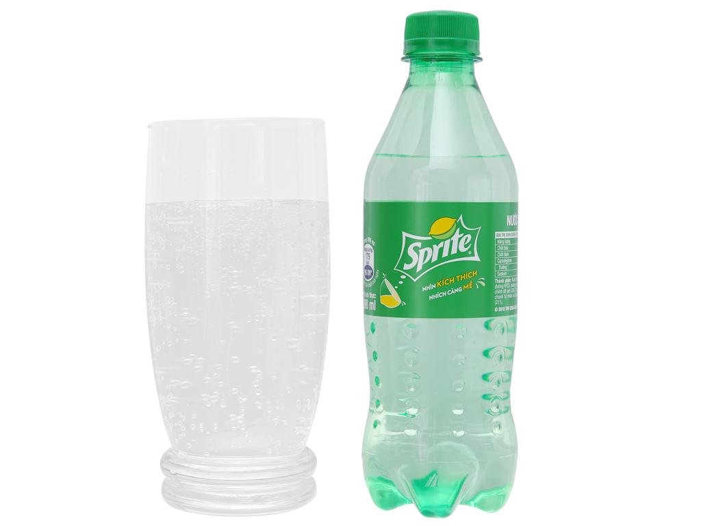 Nước ngọt Sprite hương chanh 390ml 5