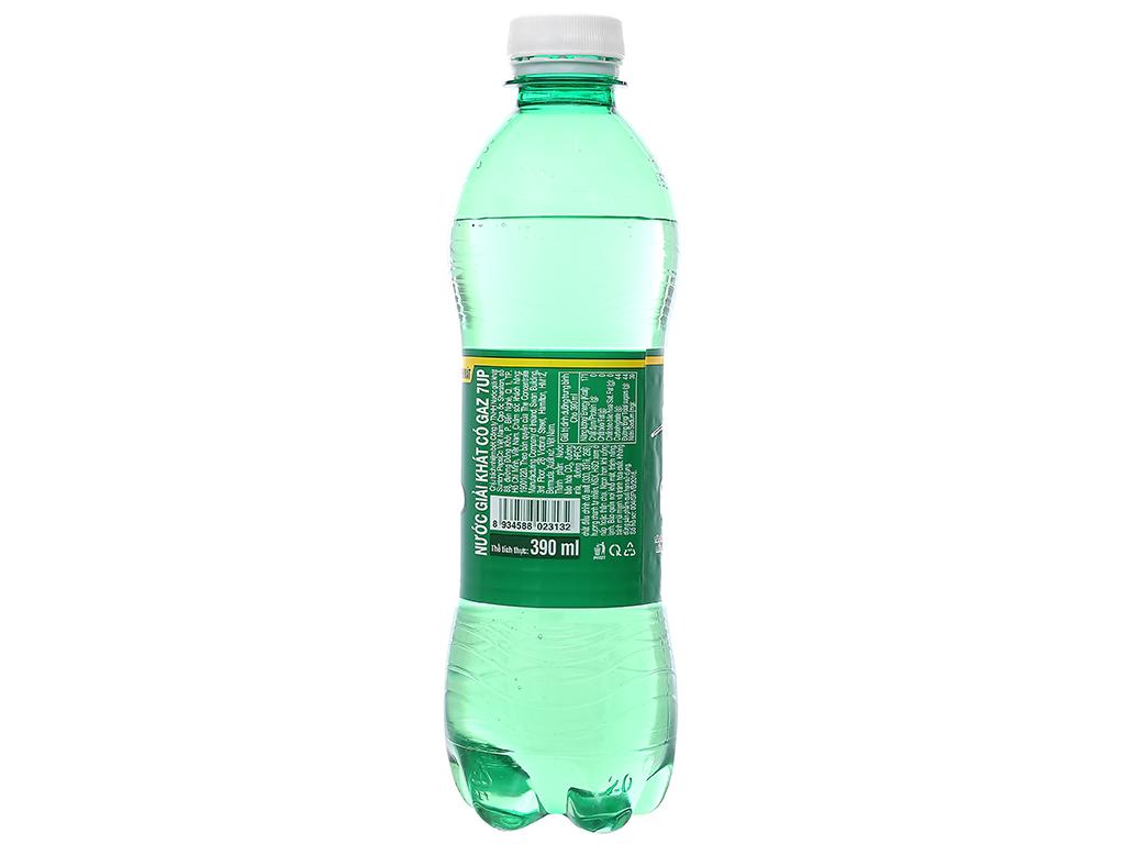 Thùng 24 chai nước ngọt 7 Up vị chanh 390ml 8