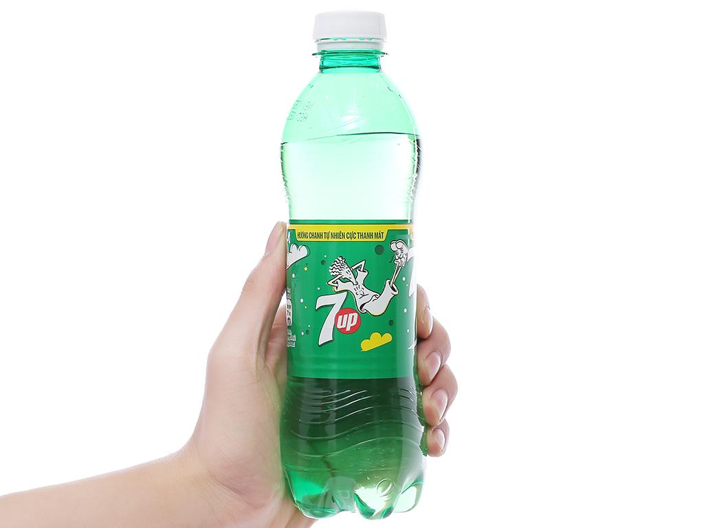 Thùng 24 chai nước ngọt 7 Up vị chanh 390ml 9