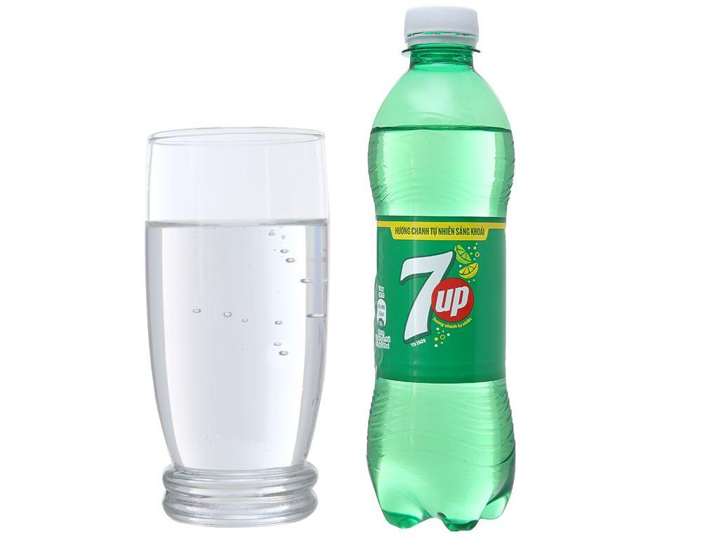 Thùng 24 chai nước ngọt 7 Up vị chanh 390ml 10