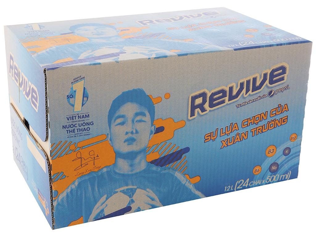 Thùng 24 chai nước uống Isotonic Revive muối khoáng 500ml 1