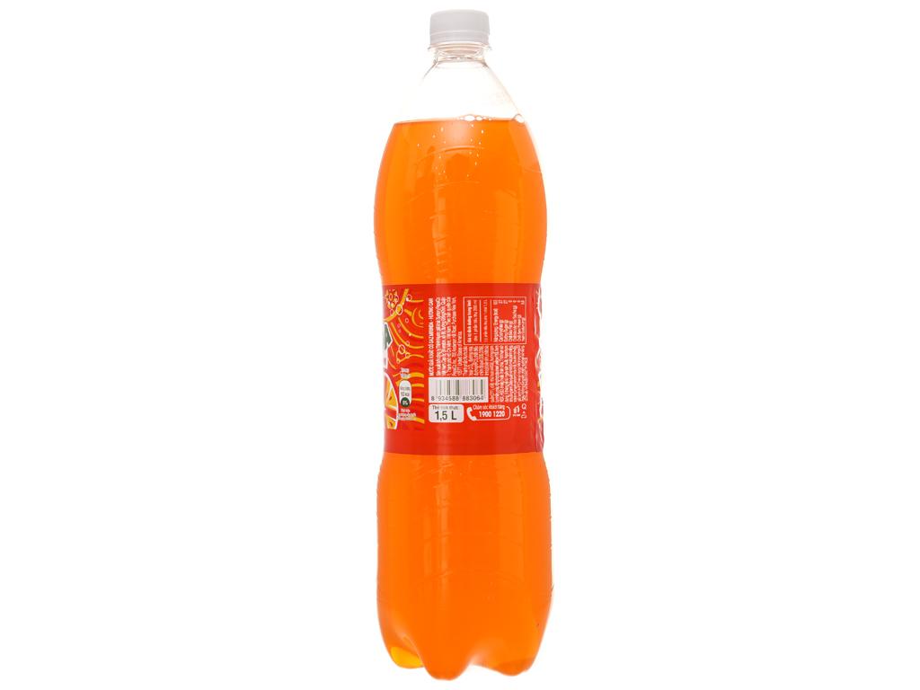 Thùng 12 chai nước ngọt Mirinda vị cam 1.5 lít 4