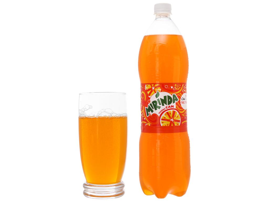 Thùng 12 chai nước ngọt Mirinda hương cam 1.5 lít 5