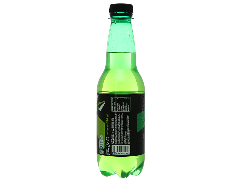 Nước ngọt Mountain Dew 390ml 3