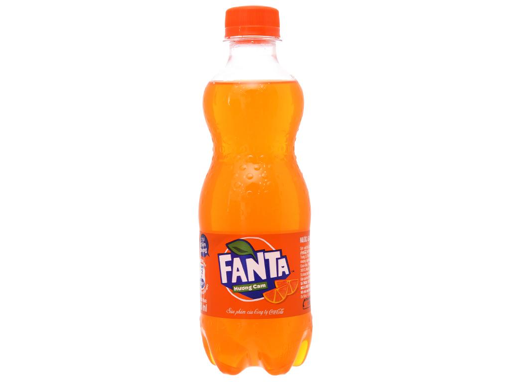 Nước ngọt Fanta hương cam 390ml 2