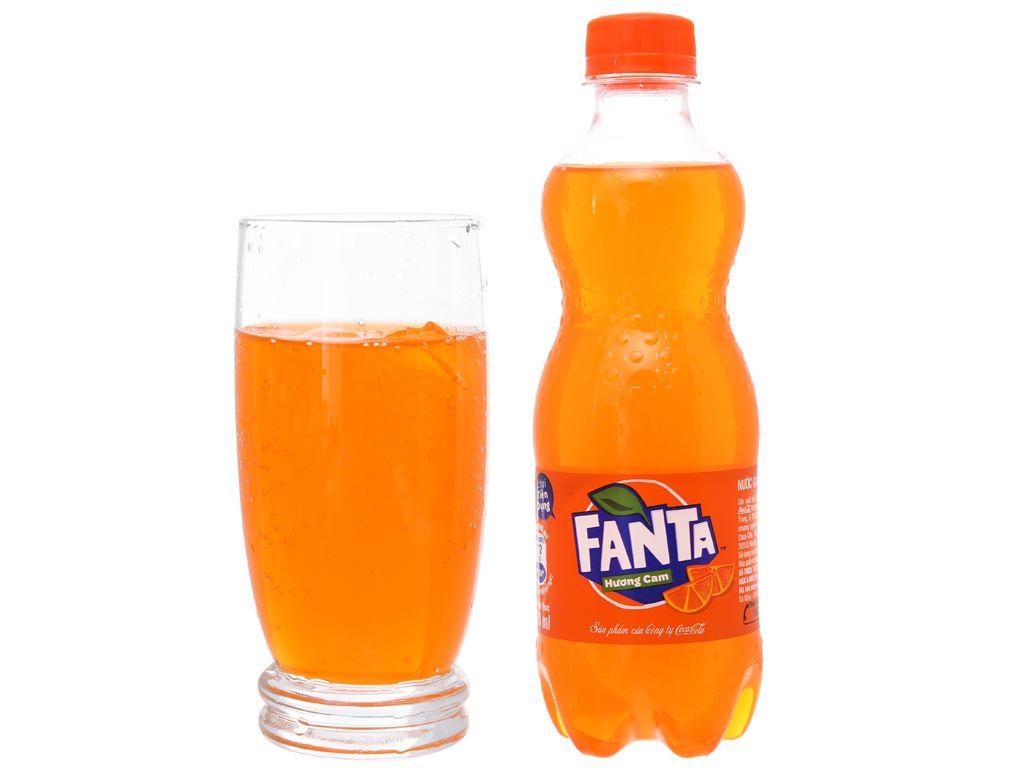Nước ngọt Fanta hương cam 390ml 5