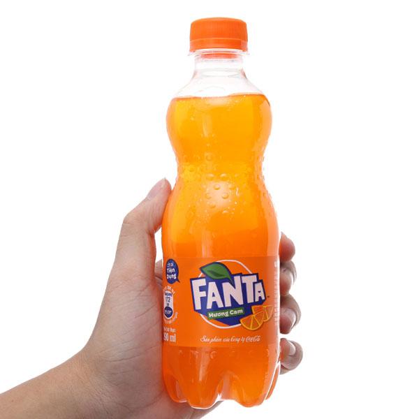 Nước ngọt Fanta vị cam 390ml