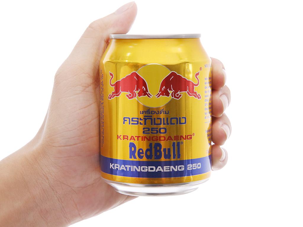 Thùng 24 lon nước tăng lực Redbull 250ml 5