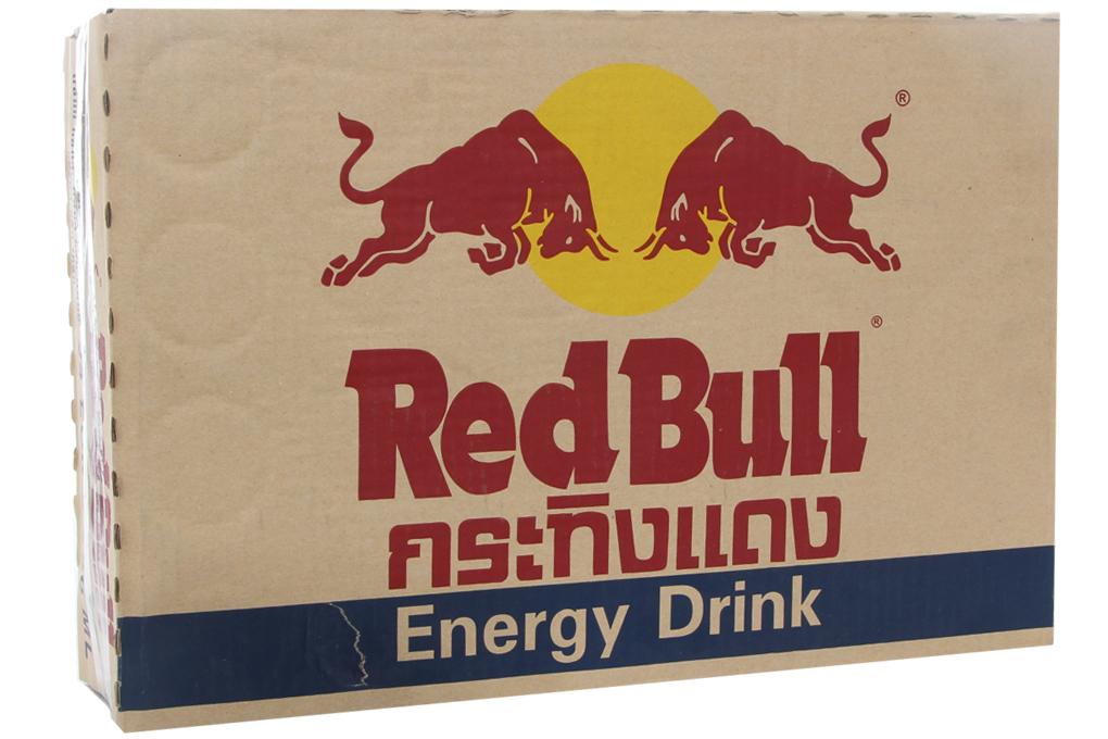 Nước tăng lực Redbull lon 250ml (thùng 24 lon)