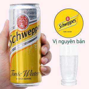 Nước giải khát có gas Schweppes Tonic 330ml