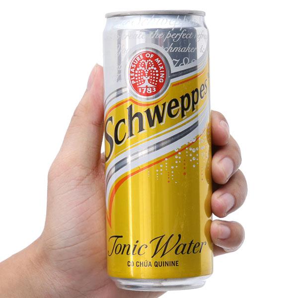Soda Schweppes Tonic lon 330ml