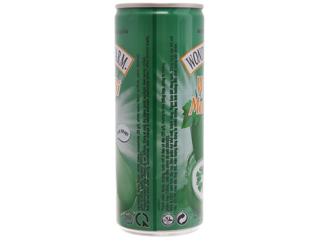 Trà bí đao Wonderfarm 240ml 2