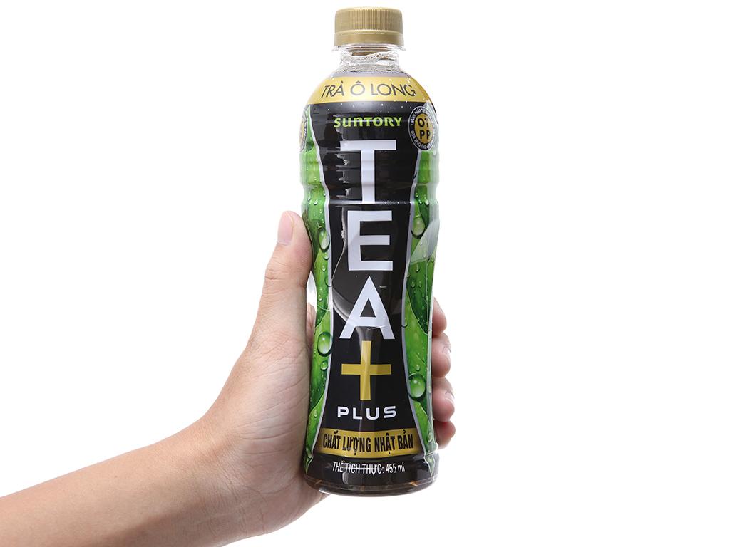 Trà ô long Tea Plus 455ml 4