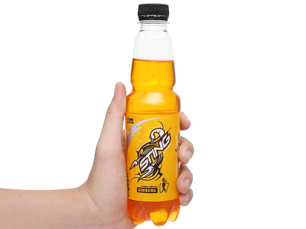 Thùng 24 chai nước tăng lực Sting Gold 330ml 5