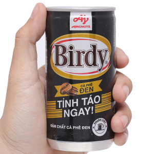 Cà phê đen Birdy 170ml