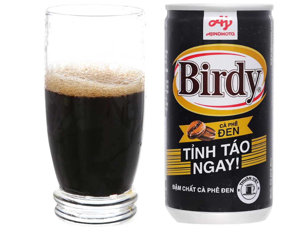 Cà phê đen Birdy 170ml 4