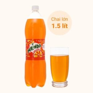 Nước ngọt Mirinda hương cam 1.5 lít
