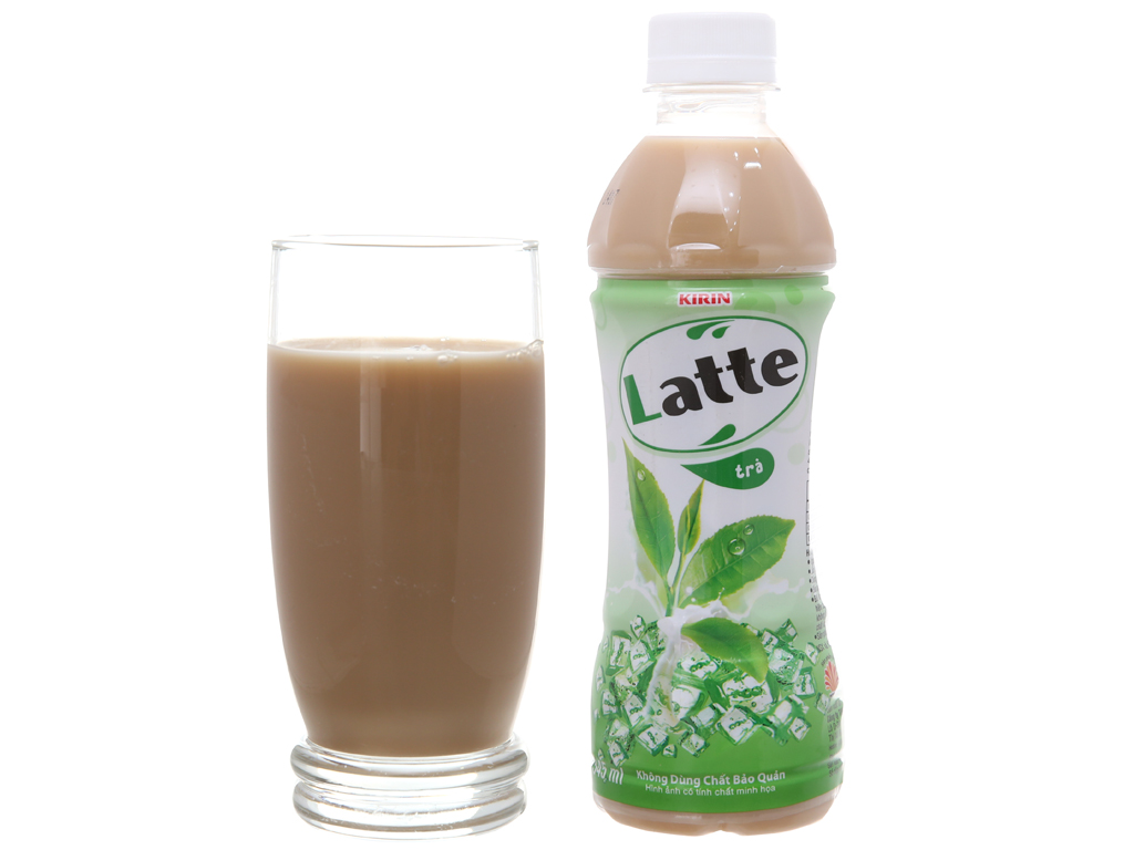 Trà sữa Kirin Latte 345ml 3