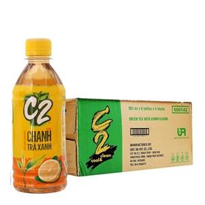 Thùng 24 chai trà xanh C2 360ml
