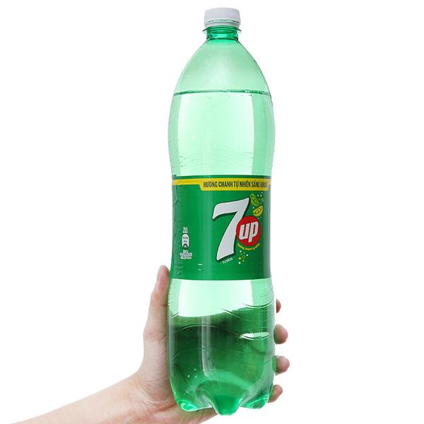 Nước ngọt 7 Up vị chanh 1.5 lít
