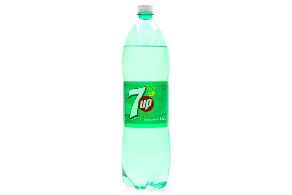 Nước ngọt 7 Up hương Chanh chai 1.5 lít