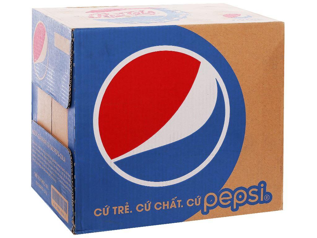Thùng 12 chai nước ngọt Pepsi Cola 1.5 lít 1